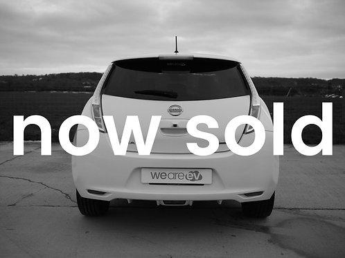 2015 (65) Nissan LEAF Tekna 30kWh 3.3kW Charger 35k Miles