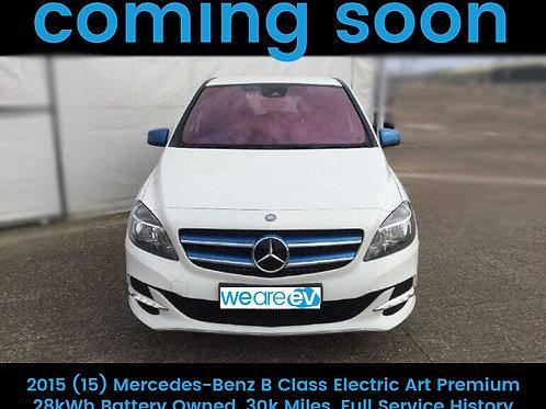 2015 (15) Mercedes-Benz B Class Electric Art Premium 28kWh 30k Miles
