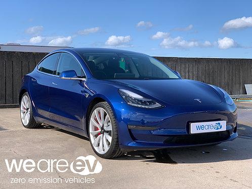 2019 (69) Tesla Model 3 Performance 2.6k Miles