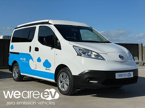 Fully Electric Campervan 40kWh NISSAN e-NV200 Prices From: