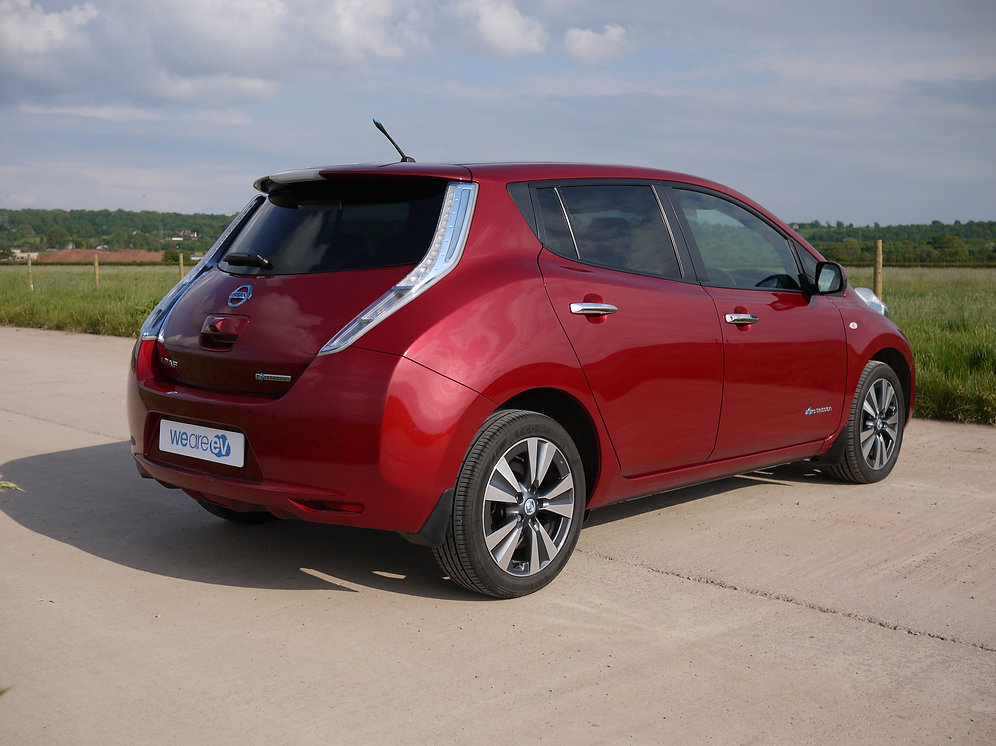 2014 14 Nissan Leaf Tekna 24kwh 3 3kwh Charger 26k Miles