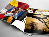 Produção (textos, fotos e diagramação) da Revista Brasil/Angola.