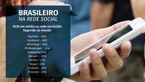 Redes sociais mais usadas pelos brasileiros em 2018