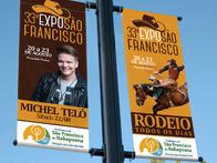 Criação de Identidade Visual da 33º Expo São Francisco.