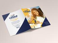 Diagramação da Revista do Casulo Centro Educaçional.