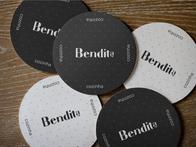 Construção da Identidade Visual do restaurante Bendita Cozinha.