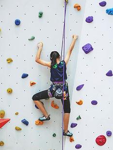 Donna Rock Climbing