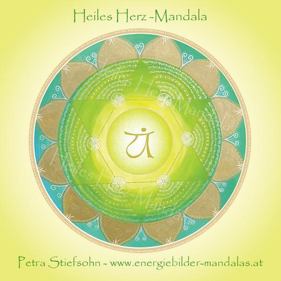 Heiles Herz-Mandala
