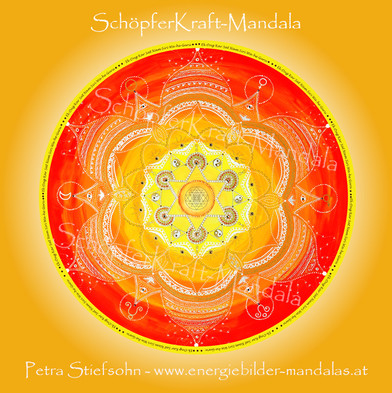 Schöpferkraft Mandala