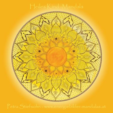 Heiles Kind-Mandala