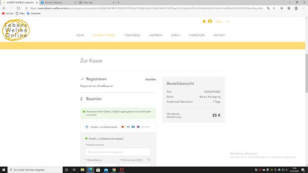 Zahlungsaufforderung   LebensWelten.Online