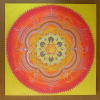 Schöpferkraft-Mandala Original