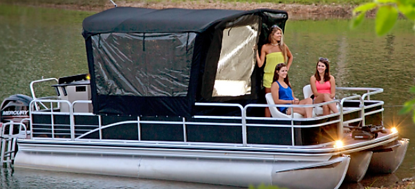 Tops, Covers, & Enclosures | Pontoon Boats 101