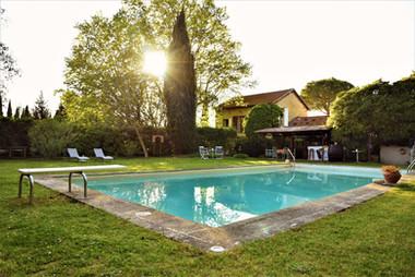 piscine chambre d'hôtes provence
