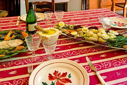 table d'hôte provence