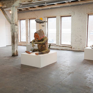 Installation at Les Aeteliers Jean Brillant, Montreal, Canada, 2014