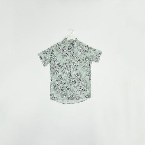 Camisa Flores Celestes