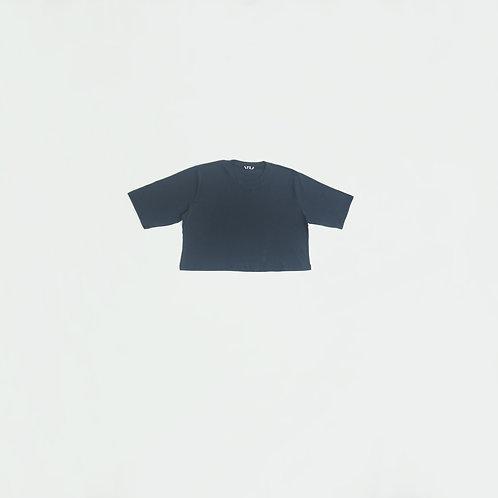 Polo Azul Crop