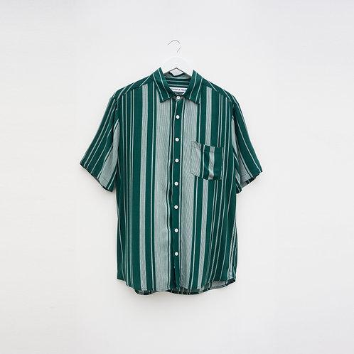 Camisa Rayas Verde