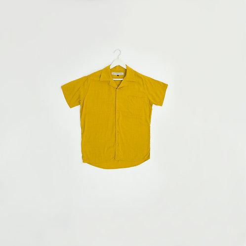 Camisa Lino Amarilla