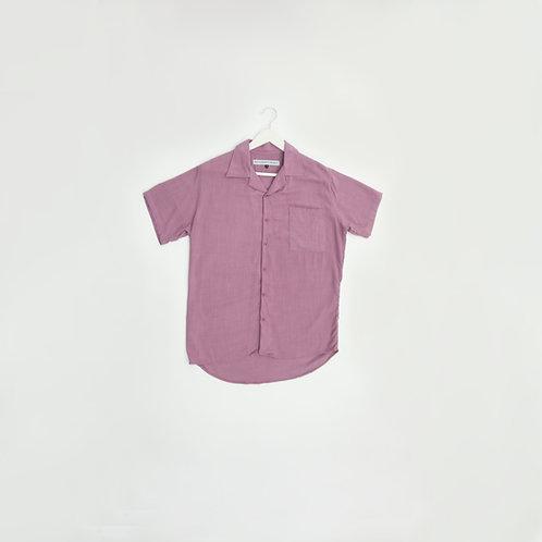 Camisa Lino Morada