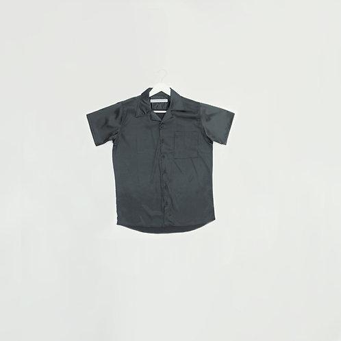 Camisa Negra Seda