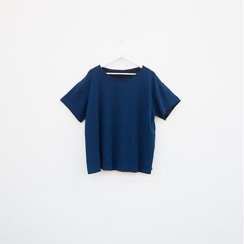 Polo Oversized Azul