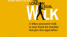 The London Legal Walk- 10th Anniversary!!