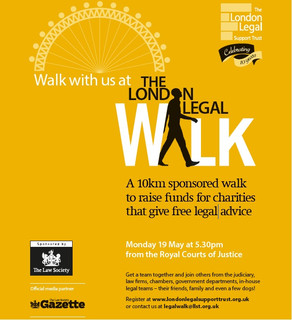 The London Legal Walk- 10th Anniversary!!