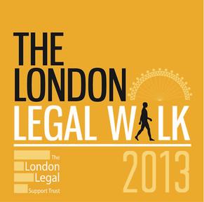 The London Legal Support Trust- Legal Aid Walk