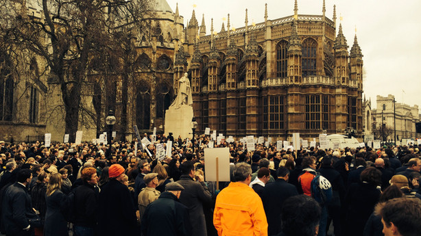 London Criminal Court Solicitor Association Protest