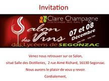 Salon des Vins des Lycéens de Segonzac