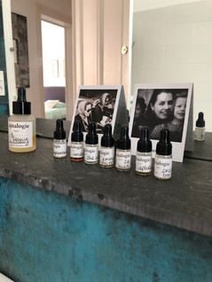 le rituel olfactif d'aline