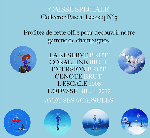 CAISSE SPÉCIALE COLLECTOR PASCAL LECOCQ N°5