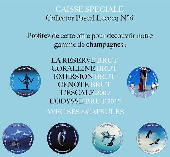 CAISSE SPÉCIALE COLLECTOR PASCAL LECOCQ N°6
