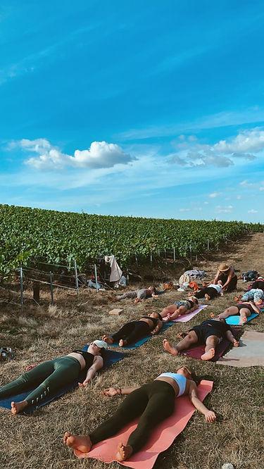 yoga en champagne