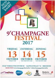 CHAMPAGNE FESTIVAL 2017 BREDENE