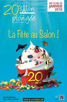20eme SALON INTERNATIONAL DE LA PLONGEE SOUS-MARINE DU DU 12 AU 15 JANVIER 2018