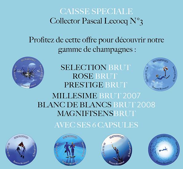 CAISSE SPÉCIALE COLLECTOR PASCAL LECOCQ N°3