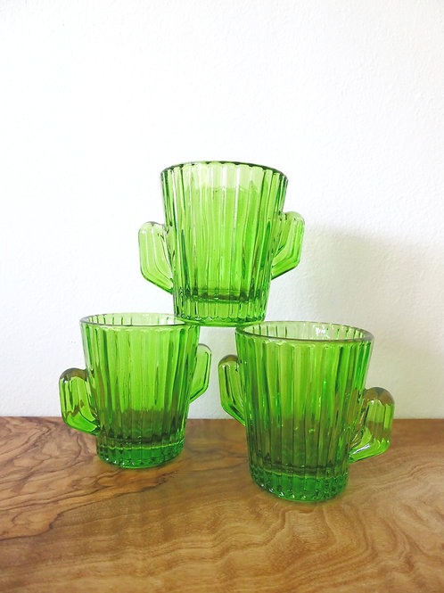 Small Cactus Glass