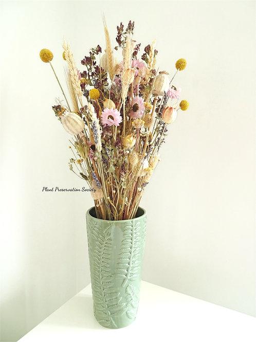 Botanical Ceramic Flower Vessel
