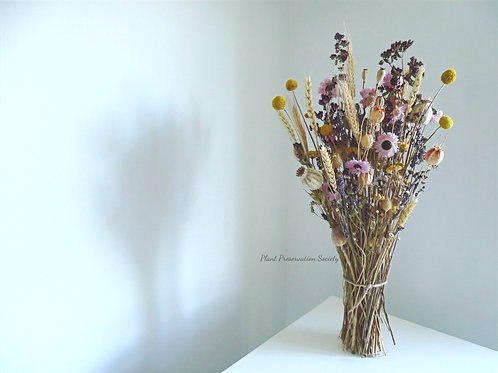 Handmade Preserved Floral Bouquet.