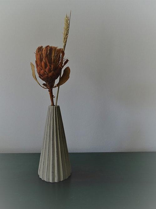 Concrete Dried Flower Arrangement