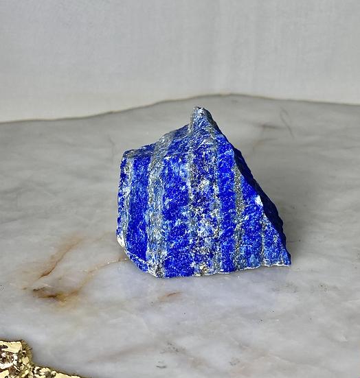 Lápis Lazuli e Pirita