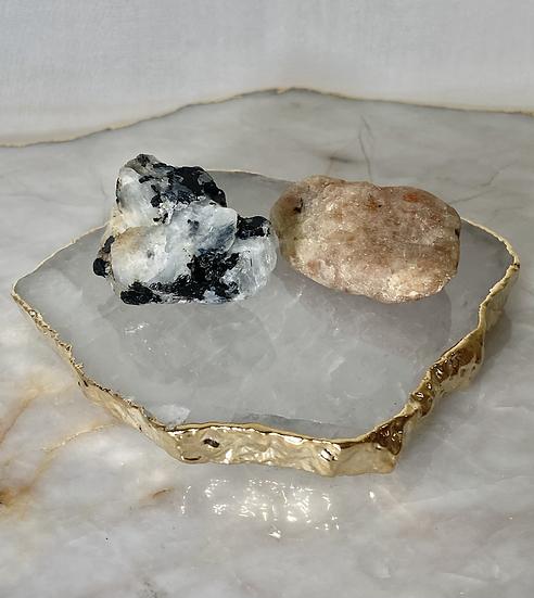 Kit Sol e Lua - Pedras Brutas