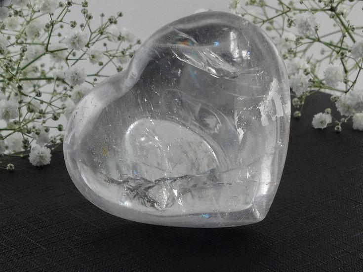 Coração Cristal - Médio