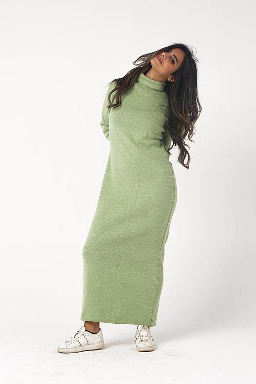 Green Fit Me Dress