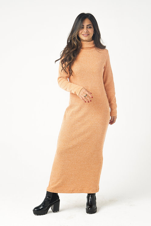 Orange Fit Me Dress