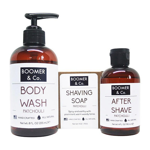 Patchouli Men's Grooming Kit