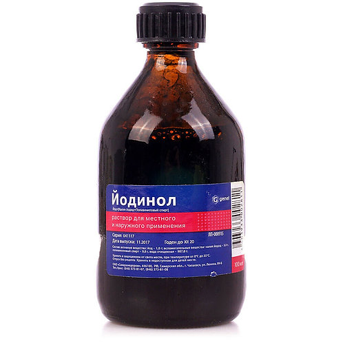 Potassium iodide - Iodinol solution 100ml